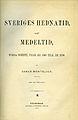 Montelius, Sveriges hednatid samt medeltid (1877) title page.jpg