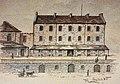 Montréal, vers 1888. Casernes Québec Barracks. (6513915837).jpg