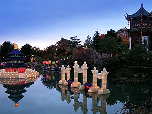 Culture of Montreal - Lantern Festival at the Botanical Garden
