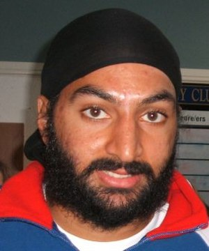 Sikhism in England - England Test cricketer Monty Panesar.