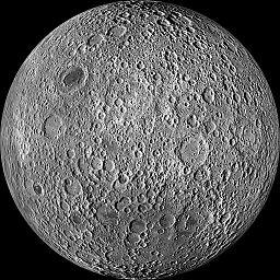 Moon farside LRO 5000
