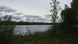 Moose Lake State Park - Echo Lake located in Moose Lake State Park