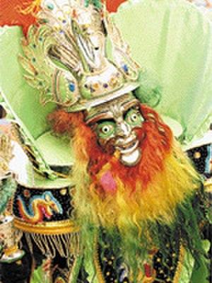 Morenada - Morenada dancer during the Carnaval de Oruro in Bolivia.