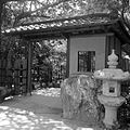 Morikami Museum and Garden - South Gate Black and White.jpg