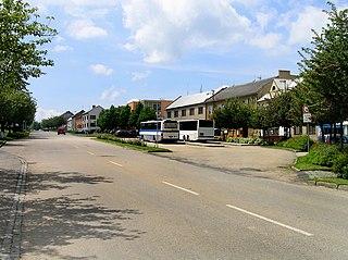 Morkovice-Slížany Town in Zlín, Czech Republic