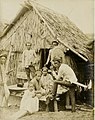 Moro Family in the Philippine Village exhibit in the Department of Anthropology at the 1904 World's Fair.jpg