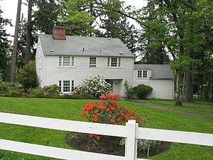 Wayne Morse - Morse's longtime home in Eugene