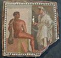 Mosaic representing Orestes and Iphigenia, 2nd-3rd century AD, Musei Capitolini, Rome (9665113778).jpg