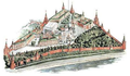 Moscow Kremlin map - The Cathedral of the Archangel.png