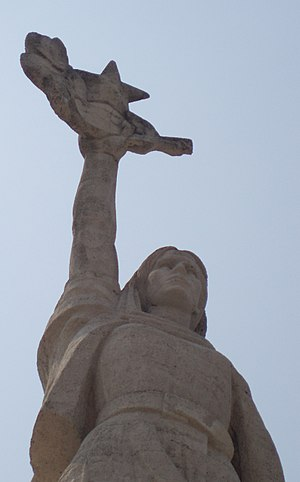 Mother Albania (statue) - Image: Mother Albania Tirana 3