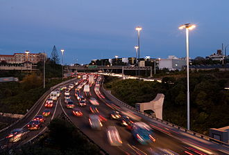 Automotive industry in New Zealand - Auckland's Southern Motorway 2007