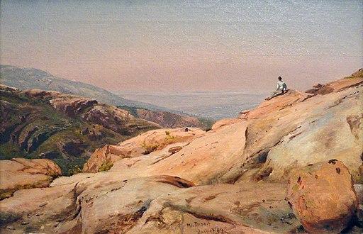 Mount Desert Island, Maine, by Jervis McEntee, 1864, oil on canvas - National Gallery of Art, Washington - DSC00124