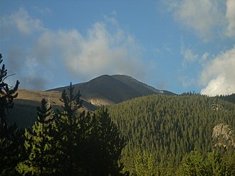 Mount Elbert - The north-east ridge