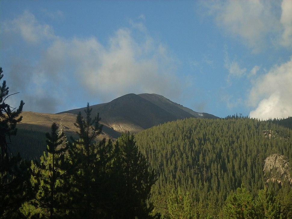Mount Elbert North-east ridge August 2010