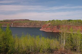 Mountain Iron Mine United States historic place