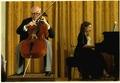 Mstislav Rostropovich performs at the White House - NARA - 181346.tif