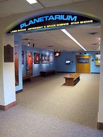 University of Nebraska State Museum - Planetarium Entrance