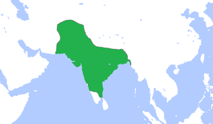Mughal emperors - The Mughal Empire in 1700.