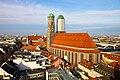 Munich Frauenkirche from Neues Rathaus.jpg