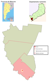 Azara, Misiones Municipality and village in Misiones Province, Argentina
