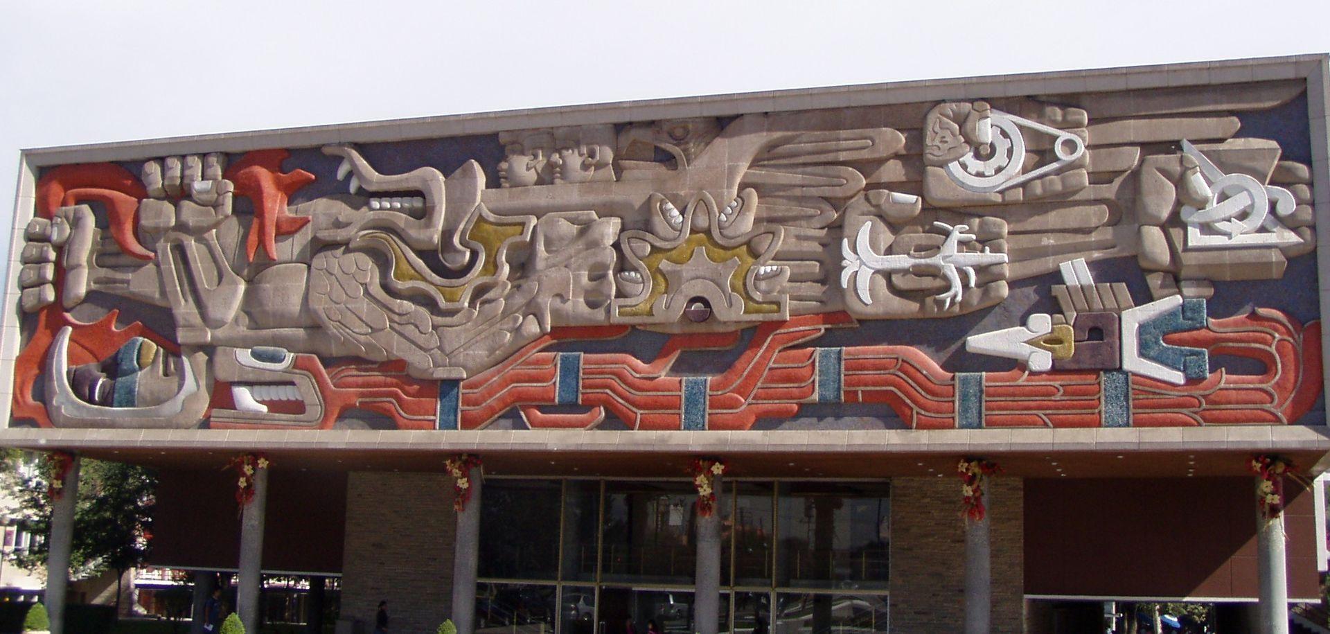 Biograf as de artistas pl sticos escultores y museos del for El mural guadalajara jalisco