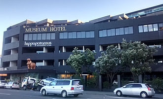 Museum Art Hotel - Image: Museum Hotel, Wellington