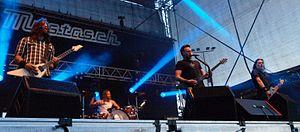 Mustasch - Mustasch at Myötätuulirock 2011