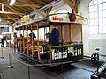 Muzeum MHD, vůz koňky, zezadu.jpg
