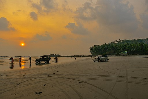 Kannur - Muzhappilangad Drive in Beach