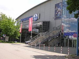 Brose Bamberg - Nuremberg Arena, which has been used as home arena of the club.