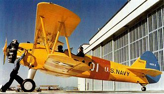 Boeing-Stearman Model 75 - United States Navy N2S-2 at NAS Corpus Christi, 1943.