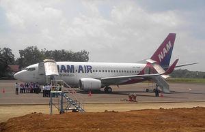 NAM Air - Image: NAM Air 737 500