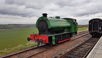 Bo'ness and Kinneil Railway - Image: NCB J94 Austerity No.19