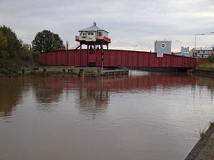 River Hull - Wilmington Bridge, now used as a cycleway and footbridge