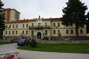 Monastir Military High School - Image: NI Istitute and Museum Bitola