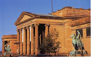 Art Gallery of New South Wales - Façade of the Vernon building main entrance