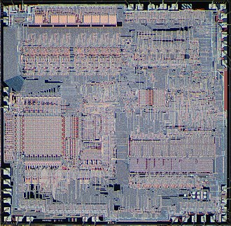 National Semiconductor PACE - National Semiconductor PACE die (IPC-16A/500)