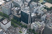 NUCB Marunouchi Tower Campus from above.JPG