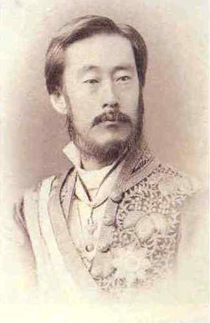 Nabeshima Naohiro (Saga) - Nabeshima Naohiro in Meiji court uniform