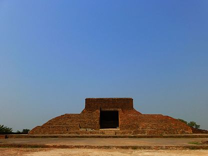 Nalanda - 034 Front View of Temple 14 (9250785709).jpg
