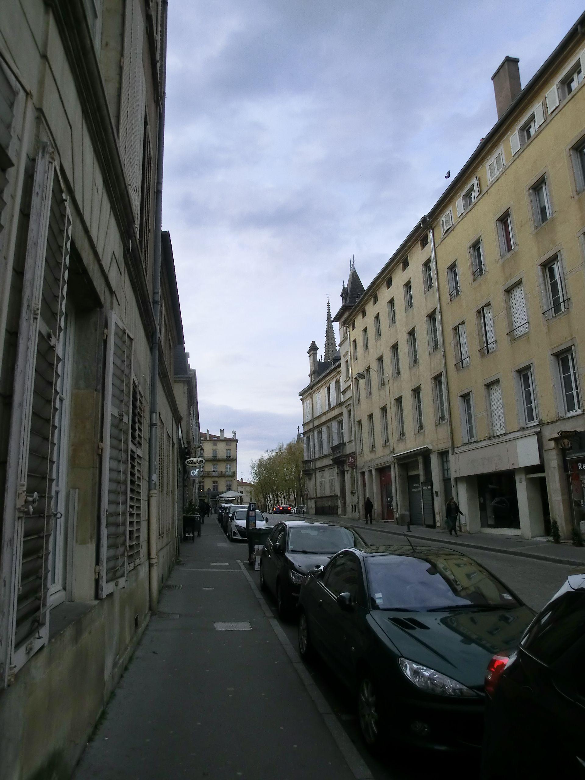 Rue la fayette nancy wikip dia for Rue catherine opalinska nancy