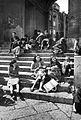 Naples - young mothers (1947) - Porticato Basilica San Francesco di Paola.jpg