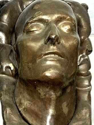 François Carlo Antommarchi - Death Mask of Napoleon, front view