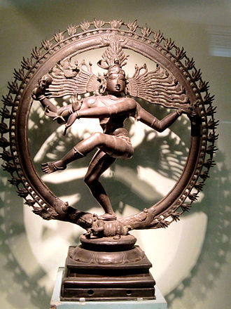 Dravidian people - Nataraja, example of Chola Empire bronze has become notable as a symbol of Hinduism.
