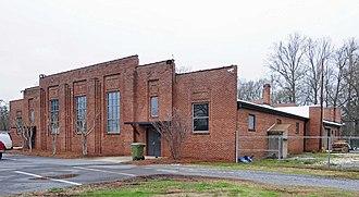 National Guard Armory (Fort Mill, South Carolina) - National Guard Armory, March 2012