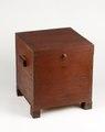 Nattstol (potta) i form av låda i rödmålad furu från 1800- talet - Skoklosters slott - 95285.tif