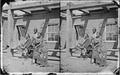 Navajoe boys and squaw at Old Fort Defiance 1873 - NARA - 519799.tif