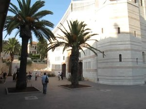 File:Nazareth, Church of the Annunciation.ogv