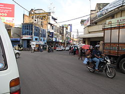 A view of the Main Street Intersection in Negombo
