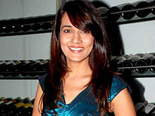 Neha Jhulka at Star One's 'Dill Mill Gayye' party.jpg